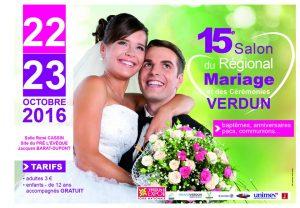 Affiche Salon du Mariage 2016
